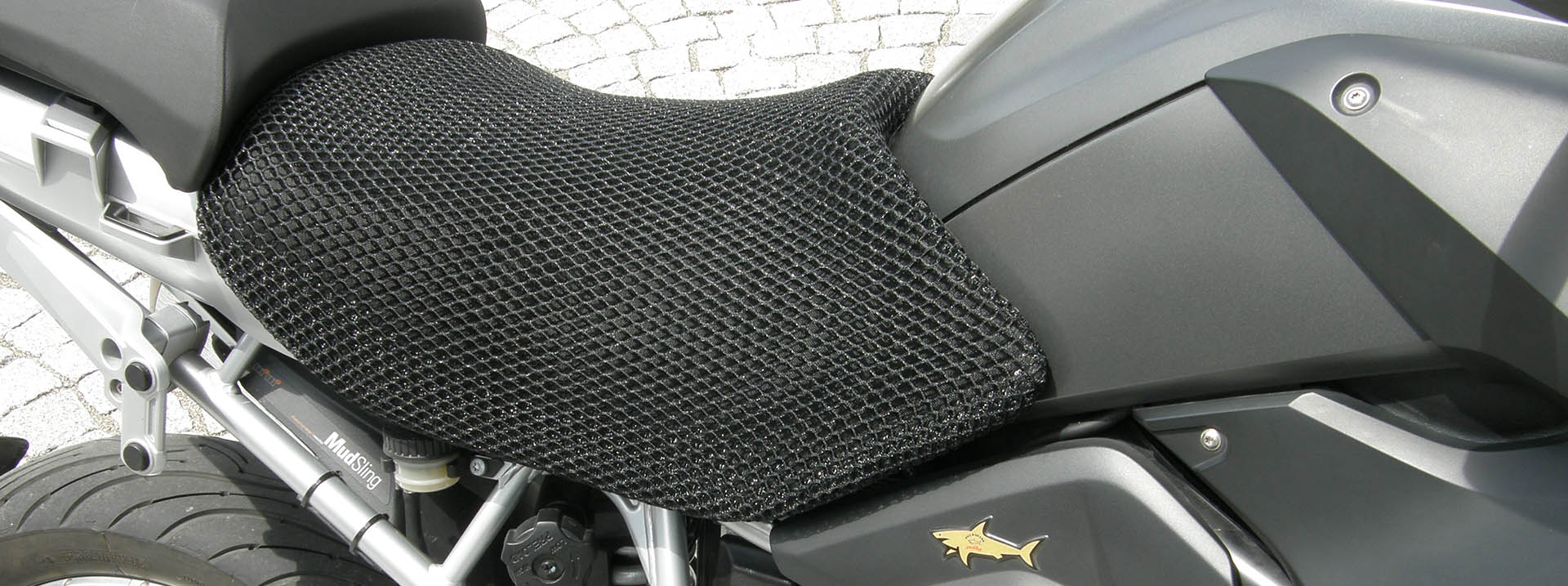Cool Covers motorbike seat cover